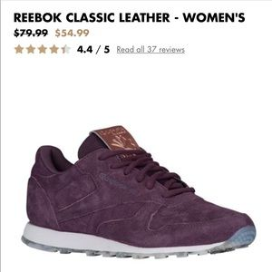 Shoes - Classic Reebok sneakers